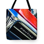 1967 Pontiac Firebird Grille Emblem Tote Bag
