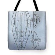 1967 Sailboat Patent Tote Bag