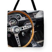 1967 Shelby Gt 350 Signed Dash Tote Bag