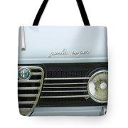 1968 Alfa Romeo Giulia Super Grille Tote Bag