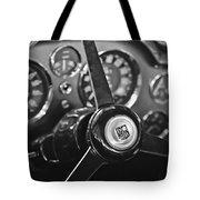 1968 Aston Martin Steering Wheel Emblem Tote Bag