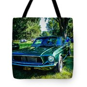1968 Bullitt Mustang Tote Bag