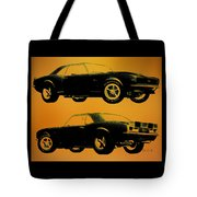 1968 Camaro Ss Side View Tote Bag