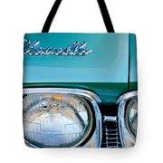 1968 Chevrolet Chevelle Headlight Tote Bag