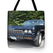 1968 Chevrolet Impala Sedan Tote Bag by John Telfer