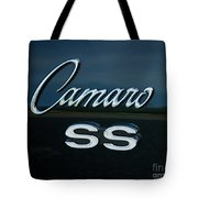 1968 Chevy Camaro Ss Logo Tote Bag