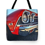 1968 Chevy Chevelle Ss 396 Tote Bag