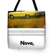 1968 Chevy Nova - The Great Equalizer Tote Bag
