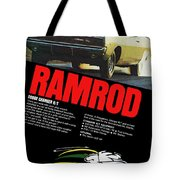 1968 Dodge Charger R/t - Ramrod Tote Bag