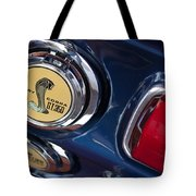 1968 Ford Mustang - Shelby Cobra Gt 350 Taillight And Gas Cap Tote Bag