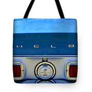 1968 Ford Shelby Gt500 Kr Convertible Rear Emblems Tote Bag