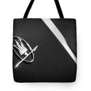 1968 Maserati Ghibli Emblem Tote Bag