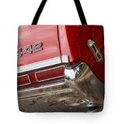 1968 Oldsmobile 442 Tote Bag