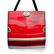 1968 Volkswagen Karmann Ghia Convertible Hood Emblem Tote Bag