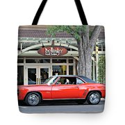 1969 Camaro On The Street Tote Bag