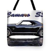 1969 Camaro Ss Tote Bag