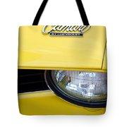 1969 Chevrolet Camaro Emblem -0241c Tote Bag