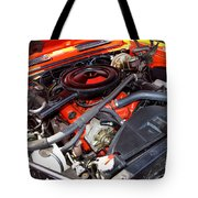 1969 Chevrolet Camaro Rs - Orange - 350 Engine - 7567 Tote Bag