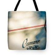 1969 Chevrolet Camaro Rs-ss Indy Pace Car Replica Side Emblem Tote Bag