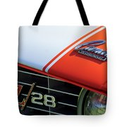 1969 Chevrolet Camaro Z-28 Emblem Tote Bag