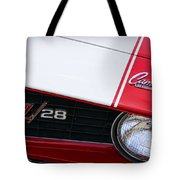 1969 Chevrolet Camaro Z28 Tote Bag