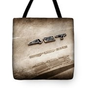 1969 Chevrolet Corvette 427 Emblem Tote Bag