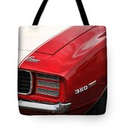 1969 Chevy Camaro Rs Tote Bag