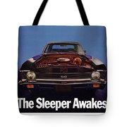 1969 Chevy Nova Ss - The Sleeper Awakes Tote Bag