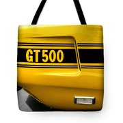 1969 Ford Shelby Mustang Gt500 Tote Bag
