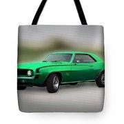 1969 L89 Camaro Tote Bag
