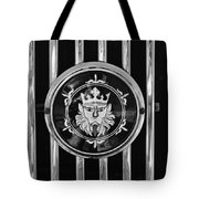 1969 Morgan Roadster Grille Emblem 3 Tote Bag by Jill Reger