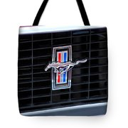 1969 Mustang Mach 1 Grille Emblem Tote Bag