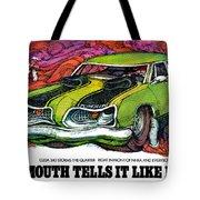 1969 Plymouth 'cuda 340 Tote Bag