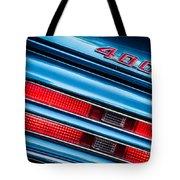 1969 Pontiac 400 Firebird Convertible Taillight Emblem -0029c Tote Bag