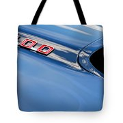 1969 Pontiac Firebird 400 Hood Tote Bag