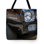 1969 Pontiac Firebird 400 Side Emblem Tote Bag