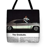 1969 Pontiac Firebird 400 - The Graduate Tote Bag