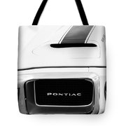 1969 Pontiac Trans Am Grille Emblem Tote Bag