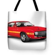 1969 Shelby Cobra Gt 500 Retro Sports Car Tote Bag