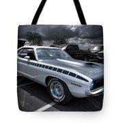 1970 Aar Barracuda Tote Bag