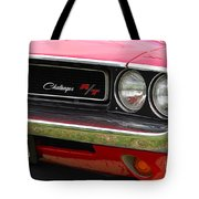 1970 Challenger Grill Tote Bag