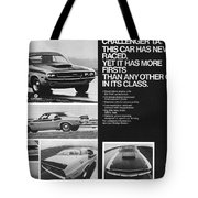 1970 Dodge Challenger T/a Tote Bag