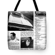 1970 Dodge Charger R/t Tote Bag