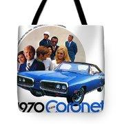 1970 Dodge Coronet 500 Tote Bag