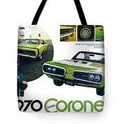 1970 Dodge Coronet R/t Tote Bag