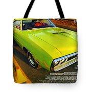1970 Dodge Coronet Super Bee Tote Bag