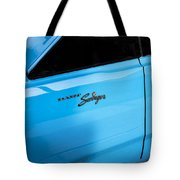 1970 Dodge Dart Swinger 340 Tote Bag