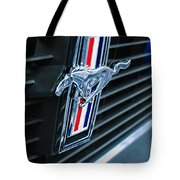 1970 Ford Mustang Boss 302 Fastback Grille Emblem Tote Bag
