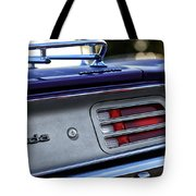 1970 Plum Crazy Purple Plymouth 'cuda Tote Bag