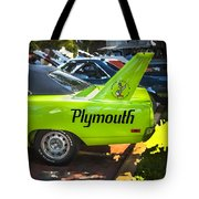 1970 Plymouth Road Runner Hemi Super Bird  Tote Bag